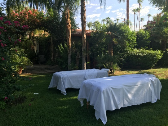 Mobile massage for small & large groups